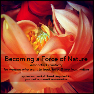 becoming a force of nature