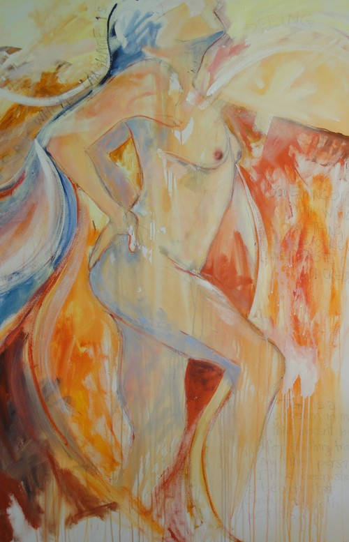 Dancing In The Flames by Holly Friesen